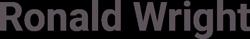RonaldWright.com Logo